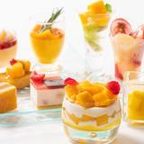 夏のスイーツブッフェが登場!ビタミンたっぷりマンゴーと濃厚ピーチを贅沢に使用