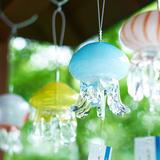 """夏の風物詩""""風鈴""""を中心に様々なクラゲの魅力を伝える展示「京都水族館」で開催!夜のライトアップも"""
