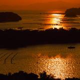 英虞湾の夕景