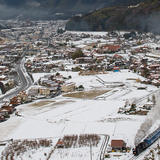 津和野赤瓦の風景