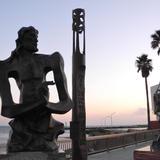 公園の彫刻