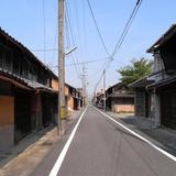 羽島の古い町並み