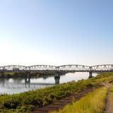 墨俣は長良川のすぐ横