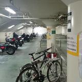 宇都宮市営中央小学校 北自転車駐車場