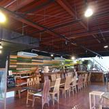 wood-style cafe