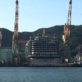 三菱長崎造船所第二ドック