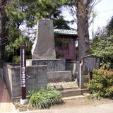 徳川家康陣地跡の碑