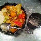 野菜を食べるカレー camp