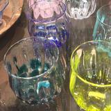 glass Art Blue Moon