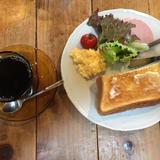 カフェとカバン