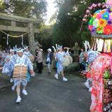 竹屋神社の豊祭(中山田太鼓踊り)