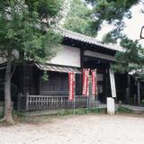 旧勝海舟邸の門(三宝寺内)