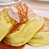 京都といえば抹茶!抹茶パンケーキが食べられるカフェ