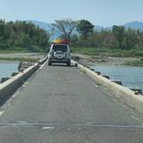 大野島潜水橋(沈下橋)