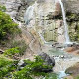川原毛大湯滝「温泉滝」