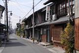 美濃路墨俣宿と古い町並み