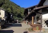福島宿 上の段の町並み