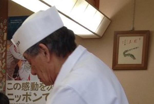 日本を代表する鮨職人、森田一夫氏