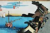 神奈川宿  神奈川(台之景)