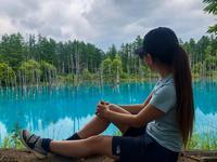 青い池の写真・動画_image_436999