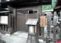 福島宿 上の段の町並みの写真・動画_image_23867
