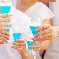 東京スパフェスイメージ ブルースパークリング乾杯