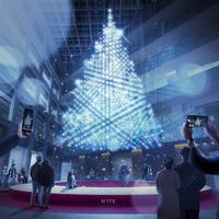 1階アトリウム クリスマスツリー イメージ