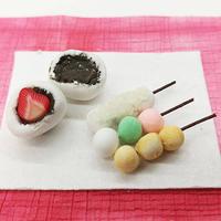 ミニチュア和菓子 イメージ
