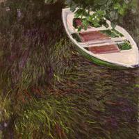 クロード・モネ 《小舟》 1887年 マルモッタン・モネ美術館 Musée Marmottan Monet, Paris (c)Musée Marmottan Monet, Paris, France/Bridgeman Images