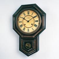精工舎八日巻掛時計 所蔵:セイコーミュージアム