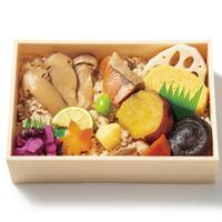 「秋限定 松茸ご飯のお弁当」