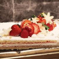 定番人気の苺のショートケーキ