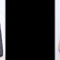 左:ハイハーバーのアイシングケーキ/右:子どもの家のシェパーズパイプレート