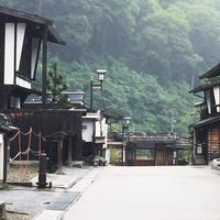 福島宿 上の段の町並みの写真・動画_image_260063