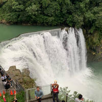 十分瀑布(Shifen Waterfall)の写真・動画_image_679851