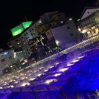 湯畑の写真・動画_image_929594