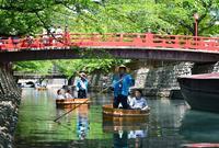 水の都おおがきたらい舟の写真・動画_image_134493