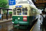 長崎の街巡りは路面電車で(長崎電気軌道)
