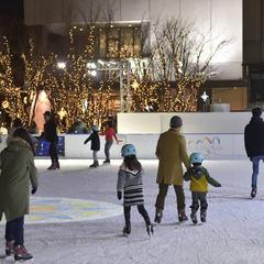 東京スカイツリータウンで本物の氷を使用したスケートリンクが1月4日に登場!