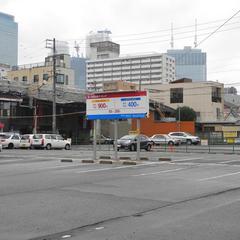 名古屋駅前の光と影
