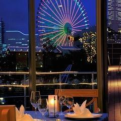 夜景が見えるレストラン「オーシャン」