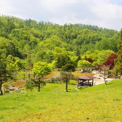 上砂川岳日本庭園