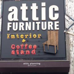 attic FURNITURE Interior & Coffee stand