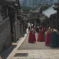 北村韓屋村(Bukchon Hanok Village)