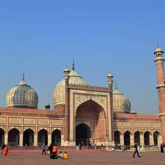 ジャマー・マスジット(Jama Masjid)
