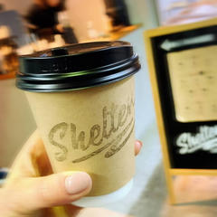 SHELTER coffee stand