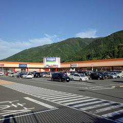 フレスポ阿波池田駐車場