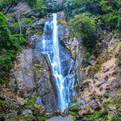 栴壇轟の滝