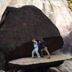 パックン岩(Pack-Man Rock)