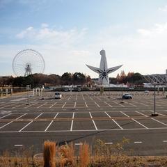 日本庭園前 駐車場